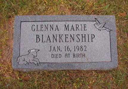 BLANKENSHIP, GLENNA MARIE - Webster County, Louisiana   GLENNA MARIE BLANKENSHIP - Louisiana Gravestone Photos