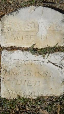 SLACK BLUNT, GEORGIA ANN - Webster County, Louisiana   GEORGIA ANN SLACK BLUNT - Louisiana Gravestone Photos
