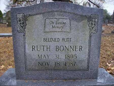 BONNER, RUTH - Webster County, Louisiana | RUTH BONNER - Louisiana Gravestone Photos