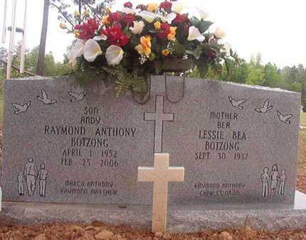 BOTZONG, RAYMOND ANTHONY - Webster County, Louisiana | RAYMOND ANTHONY BOTZONG - Louisiana Gravestone Photos