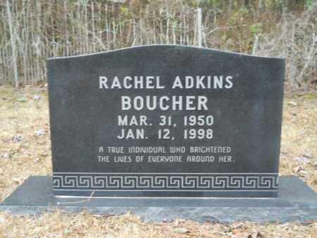 ADKINS BOUCHER, RACHEL - Webster County, Louisiana   RACHEL ADKINS BOUCHER - Louisiana Gravestone Photos