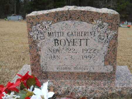BOYETT, MITTIE CATHERINE - Webster County, Louisiana | MITTIE CATHERINE BOYETT - Louisiana Gravestone Photos