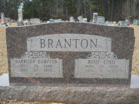BRANTON, HARRISON HAMPTON - Webster County, Louisiana | HARRISON HAMPTON BRANTON - Louisiana Gravestone Photos