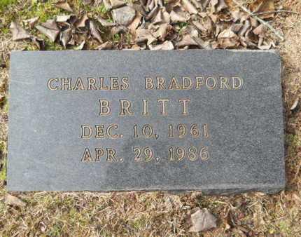 BRITT, CHARLES BRADFORD - Webster County, Louisiana | CHARLES BRADFORD BRITT - Louisiana Gravestone Photos