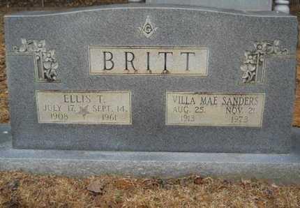 BRITT, VILLA MAE - Webster County, Louisiana | VILLA MAE BRITT - Louisiana Gravestone Photos