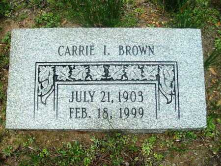 HARPER BROWN, CARRIE I - Webster County, Louisiana | CARRIE I HARPER BROWN - Louisiana Gravestone Photos