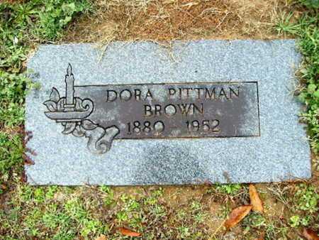 PITTMAN BROWN, DORA - Webster County, Louisiana | DORA PITTMAN BROWN - Louisiana Gravestone Photos