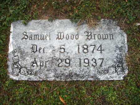 BROWN, SAMUEL WOOD - Webster County, Louisiana | SAMUEL WOOD BROWN - Louisiana Gravestone Photos
