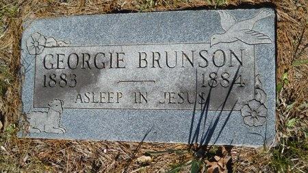 BRUNSON, GEORGIE - Webster County, Louisiana | GEORGIE BRUNSON - Louisiana Gravestone Photos