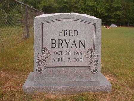 "BRYAN, JACKSON FREDERICK ""FRED"" - Webster County, Louisiana 