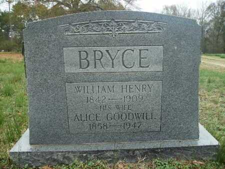 BRYCE, WILLIAM HENRY - Webster County, Louisiana | WILLIAM HENRY BRYCE - Louisiana Gravestone Photos