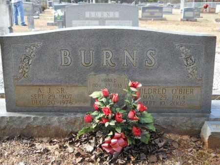 BURNS, MILDRED - Webster County, Louisiana | MILDRED BURNS - Louisiana Gravestone Photos