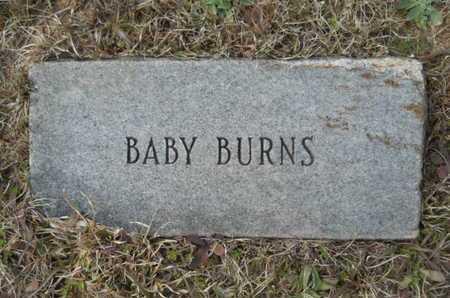 BURNS, BABY - Webster County, Louisiana | BABY BURNS - Louisiana Gravestone Photos