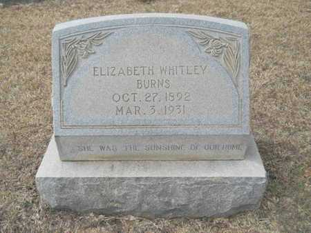 BURNS, ELIZABETH - Webster County, Louisiana | ELIZABETH BURNS - Louisiana Gravestone Photos