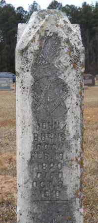 BURNS, JOHN A - Webster County, Louisiana | JOHN A BURNS - Louisiana Gravestone Photos