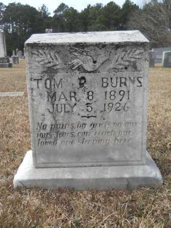 BURNS, TOM PAXTON - Webster County, Louisiana | TOM PAXTON BURNS - Louisiana Gravestone Photos