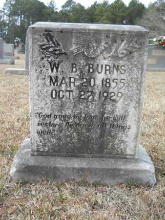 BURNS, WILLIAM BURKE - Webster County, Louisiana | WILLIAM BURKE BURNS - Louisiana Gravestone Photos