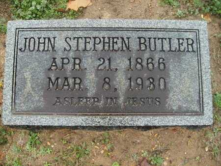 BUTLER, JOHN STEPHEN - Webster County, Louisiana | JOHN STEPHEN BUTLER - Louisiana Gravestone Photos