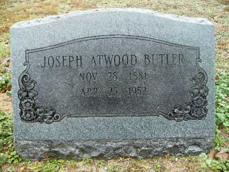 BUTLER, JOSEPH ATWOOD - Webster County, Louisiana   JOSEPH ATWOOD BUTLER - Louisiana Gravestone Photos