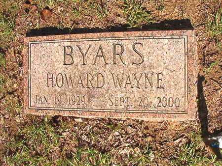 BYARS, HOWARD WAYNE - Webster County, Louisiana | HOWARD WAYNE BYARS - Louisiana Gravestone Photos