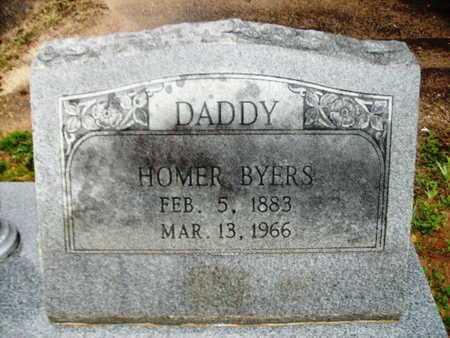 BYERS, HOMER - Webster County, Louisiana | HOMER BYERS - Louisiana Gravestone Photos