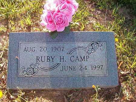 CAMP, RUBY H - Webster County, Louisiana   RUBY H CAMP - Louisiana Gravestone Photos