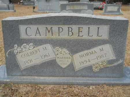 CAMPBELL, COLBERT M - Webster County, Louisiana | COLBERT M CAMPBELL - Louisiana Gravestone Photos