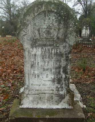 CANFIELD, J M - Webster County, Louisiana | J M CANFIELD - Louisiana Gravestone Photos