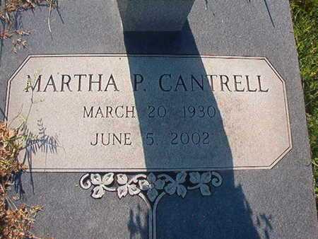 CANTRELL, MARTHA P - Webster County, Louisiana   MARTHA P CANTRELL - Louisiana Gravestone Photos