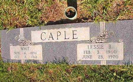 CAPLE, LESSIE B - Webster County, Louisiana | LESSIE B CAPLE - Louisiana Gravestone Photos