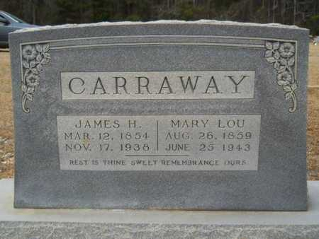 "MORGAN CARRAWAY, MARY LUQUINSEY ""LOU"" - Webster County, Louisiana 