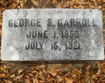 CARROLL, GEORGE S - Webster County, Louisiana | GEORGE S CARROLL - Louisiana Gravestone Photos