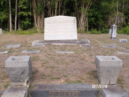 CARTER, FAMILY PLOT - Webster County, Louisiana | FAMILY PLOT CARTER - Louisiana Gravestone Photos