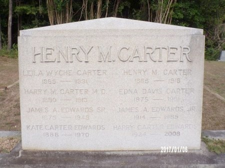 CARTER EDWARDS, KATE - Webster County, Louisiana | KATE CARTER EDWARDS - Louisiana Gravestone Photos