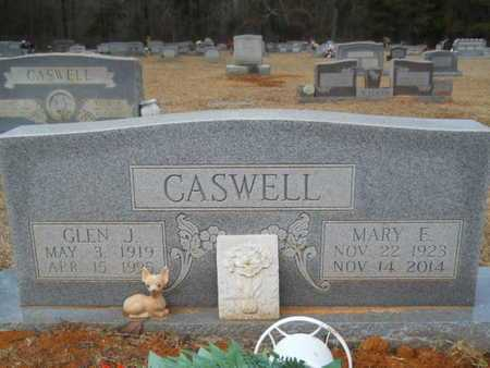 CASWELL, MARY ELIZABETH - Webster County, Louisiana | MARY ELIZABETH CASWELL - Louisiana Gravestone Photos