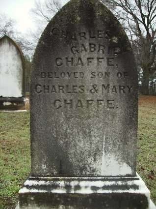 CHAFFE, CHARLES GABRIEL (BACK) - Webster County, Louisiana | CHARLES GABRIEL (BACK) CHAFFE - Louisiana Gravestone Photos