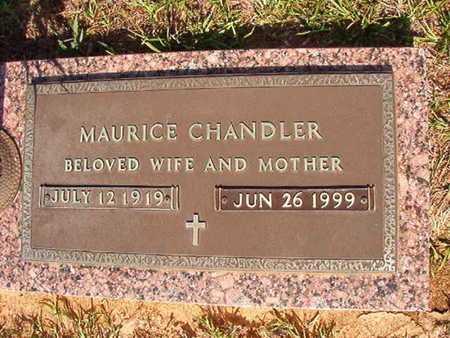 CHANDLER, MAURICE - Webster County, Louisiana | MAURICE CHANDLER - Louisiana Gravestone Photos