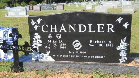 CHANDLER, MIKE D (OBIT) - Webster County, Louisiana   MIKE D (OBIT) CHANDLER - Louisiana Gravestone Photos