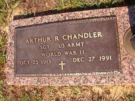 CHANDLER, ARTHUR R (VETERAN WWII) - Webster County, Louisiana | ARTHUR R (VETERAN WWII) CHANDLER - Louisiana Gravestone Photos