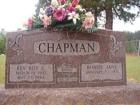 CHAPMAN, ROY E, REV - Webster County, Louisiana | ROY E, REV CHAPMAN - Louisiana Gravestone Photos