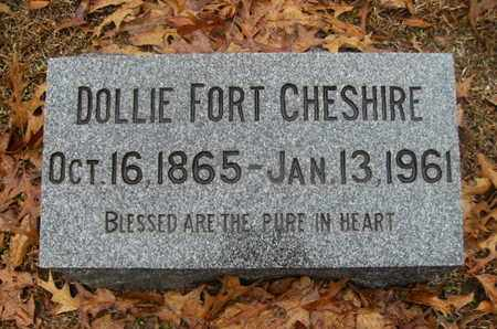 FORT CHESHIRE, DOLLIE - Webster County, Louisiana | DOLLIE FORT CHESHIRE - Louisiana Gravestone Photos