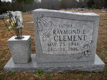 CLEMENT, RAYMOND E - Webster County, Louisiana | RAYMOND E CLEMENT - Louisiana Gravestone Photos