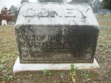 CONEY, WALTON BRUMFIELD, JR - Webster County, Louisiana   WALTON BRUMFIELD, JR CONEY - Louisiana Gravestone Photos