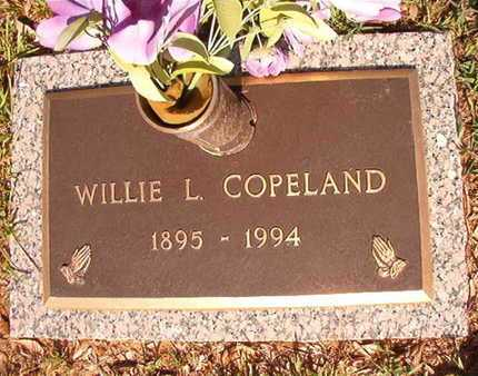 COPELAND, WILLIE L - Webster County, Louisiana   WILLIE L COPELAND - Louisiana Gravestone Photos