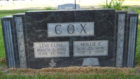 COX, LEVI CUNE - Webster County, Louisiana | LEVI CUNE COX - Louisiana Gravestone Photos