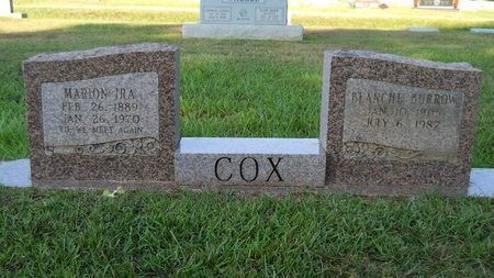 COX, MARION IRA - Webster County, Louisiana | MARION IRA COX - Louisiana Gravestone Photos