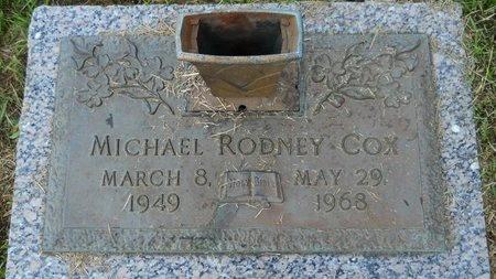 COX, MICHAEL RODNEY - Webster County, Louisiana   MICHAEL RODNEY COX - Louisiana Gravestone Photos