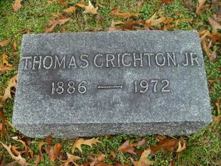CRICHTON, THOMAS, JR - Webster County, Louisiana | THOMAS, JR CRICHTON - Louisiana Gravestone Photos