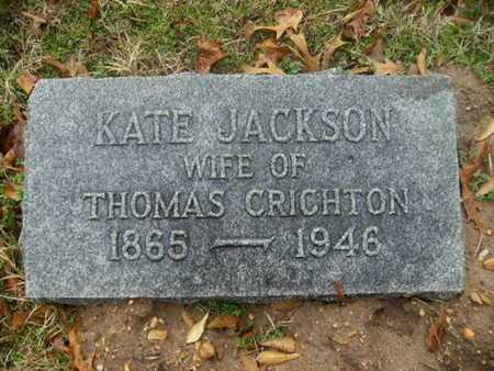CRICHTON, KATE - Webster County, Louisiana | KATE CRICHTON - Louisiana Gravestone Photos