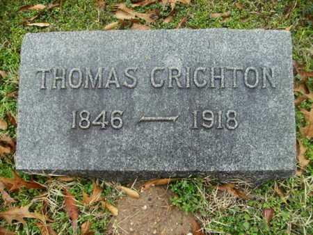 CRICHTON, THOMAS - Webster County, Louisiana | THOMAS CRICHTON - Louisiana Gravestone Photos
